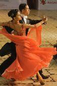 Dançarinos de salão: Maria Talpiga / Bogdan Talpiga
