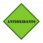 Antioxidants  Sign