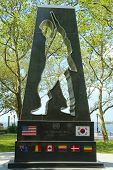 Korean War Memorial in Battery Park