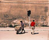 SARAJEVO, BOSNIA, 03 JULY 1993 - The famous