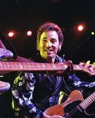WASHINGTON D.C. â?? SEPT 21: New Jersey born rock star Bruce Springsteen performs a concert in Washi
