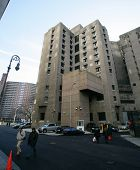 NEW YORK CITY - DECEMBER 27: The Metropolitan Correctional Center (MCC) in New York City, New York, on Sunday,  December 27, 2009.