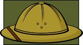 picture of sola topee  - safari hat or pith helmet - JPG