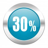 30 percent internet icon
