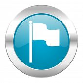 flag internet icon