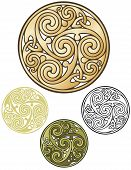 Celtic coin emblem
