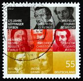 Postage Stamp Germany 2012 The Gottingen Seven