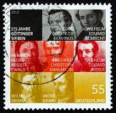 Postage Stamp Germany 2012 The Gottingen Seven