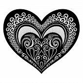 Vector Deco Abstract Heart