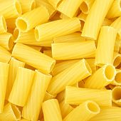 Rigatoni pasta background