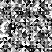 Seamless geometric background. Abstract vector Illustration. Mosaic. Can be used for wallpaper, web