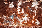 Grunge retro rusty metal close up photo , great texture,background or design element  for your proje