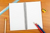 Notepad With Stationery