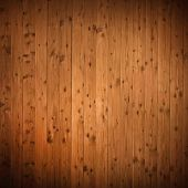 wooden panel wall