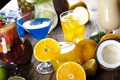 Exotic alcohol drinks