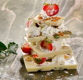 White Chocolate Christmas Dessert