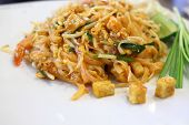 Thai Food, Pad Thai, Thai Style Noodles