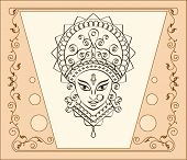 stock photo of durga  - Durga The Goddess Of Power - JPG