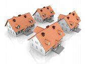 Cuatro casas