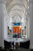 WURZBURG, GERMANY - JULY 18: St. Augustine's Church in Wurzburg on July 18, 2013.