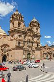 CUZCO, PERU, MAY 1, 2014: The Church of the Company of Jesus
