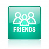 friends internet icon