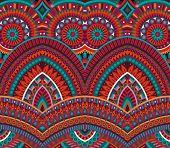 tribal ethnic background seamless pattern