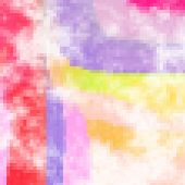 Abstract Mosaic Background-rainbow Colours