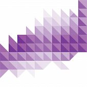picture of triangular pyramids  - creative triangular pattern banner design background vector - JPG