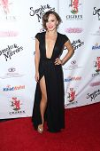 LOS ANGELES - SEP 13:  Karina Smirnoff at the 2014 Brent Shapiro Foundation Summer Spectacular at Pr