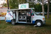Mobile Atm In Lancaster County, Pa Community Fair.