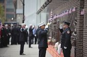 FDNY memorial wall honor guard