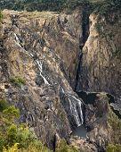 Barron Cascading Waterfall, Queensland Australia.