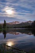 Night Scape In Yellowstone
