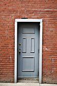 Door in Alley