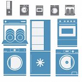 Kitchen Electronic Appliances Set