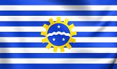 Flag Of Sao Jose Dos Campos, Brazil.