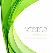image of curves  - Vector Abstract curved lines background - JPG