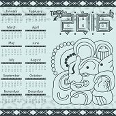 Aztec Calendar 2016