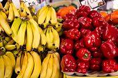 Market fruit stall