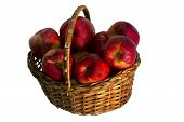 Apples In A Wattled Basket