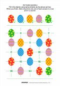 Picture sudoku puzzle with Easter eggs