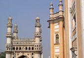 image of charminar  - Landmark of Hyderabad  - JPG