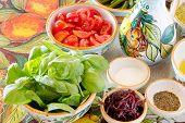 Genuine Mediterranean Food Ingredients