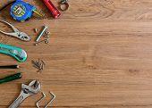 Set Of Home Manual Tools