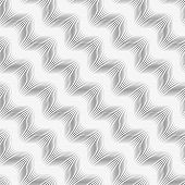 Repeating Ornament Many Diagonal Wavy Lines