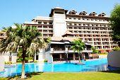 The Luxury Villa In Thai Style Hotel On Palm Jumeirah Man-made Island, Dubai, Uae