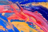 abstract oil painting fragment