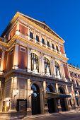 Wiener Musikverein At Evening