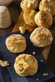 picture of biscuits  - Homemade Flakey Buttermilk Biscuits Ready to Eat - JPG
